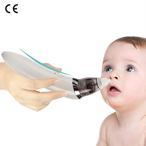 Aspiratore Nasale Elettrico per Bambini,Aspiratore nasale elettrico infantile addetto alle pulizie...