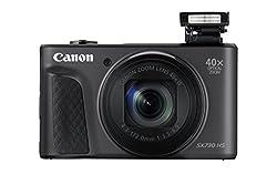 Kaufen Canon 1791C002 PowerShot SX730 HS Digitalkamera (20,3 MP CMOS-Sensor, 40 fach Zoom, Full HD, WLAN/Bluetooth, 7,5 cm (3 Zoll)) schwarz