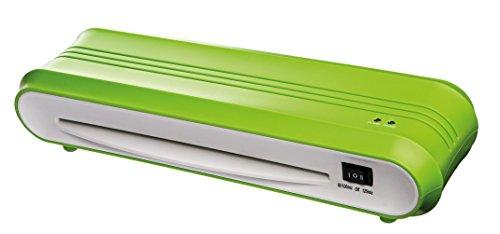 Genie F9011 Laminiergerät (bis DIN A4, geeignet für Heißlamination, Inkl. Laminerfolien) grün