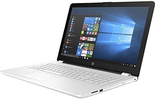 """HP 15-BS510NS - Ordenador portátil de 15.6"""" (Wi-Fi y Bluetooth 4.0, Intel Celeron 1.6 GHz, Memoria Interna de 1 TB, 8 GB de RAM, Windows 10 Home) Color Blanco Nieve, Teclado QWERTY español"""
