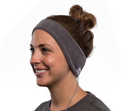 AcousticSheep souple, FIN sleepp Smartphones Classic Breeze Polyester-Bandeau avec écouteurs intégrés pour Smartphone et Tablette 24