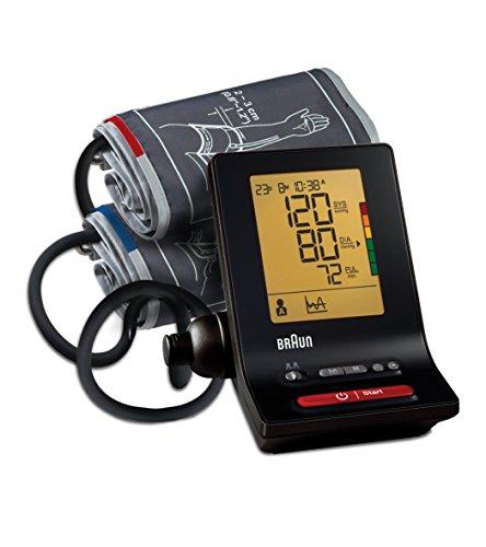 Braun BP6200 ExactFitTM 5 Misuratore Automatico della Pressione da Braccio con Bracciale a Due...