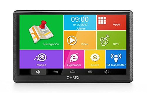 ohrex gps navigation voiture 7 pouces avec wi fi et bluetooth am rique enti re europe dur e de. Black Bedroom Furniture Sets. Home Design Ideas