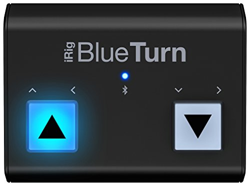 Ik Multimedia Irig Blueturn - Gira Pagine Bluetooth Per Iphone, Ipad, Mac E Android