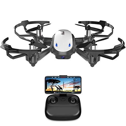 Potensic Drone con Telecamera D20 Drone WiFi Funzione di Sospensione Altitudine Allarme della...