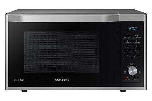 Samsung MC32J7035AS/EG – Microondas con función de horno y grill, color negro y plateado – [Importado de Alemania]