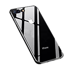 Kaufen iPhone 8 Plus Hülle,iPhone 7 Plus Hülle,Yica Dünn Crystal Clear Transparent Handyhülle Cover Soft Premium-TPU Durchsichtige Schutzhülle Backcover Slimcase für iPhone 8/7 Plus