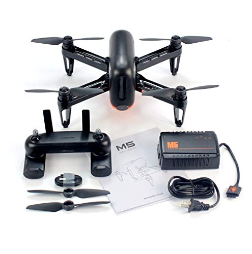 WF Mini RC Quadcopter Drone, Controllo App 2.4Ghz 6 Assi Gyro 720P HD Video Live modalità FPV GPS...