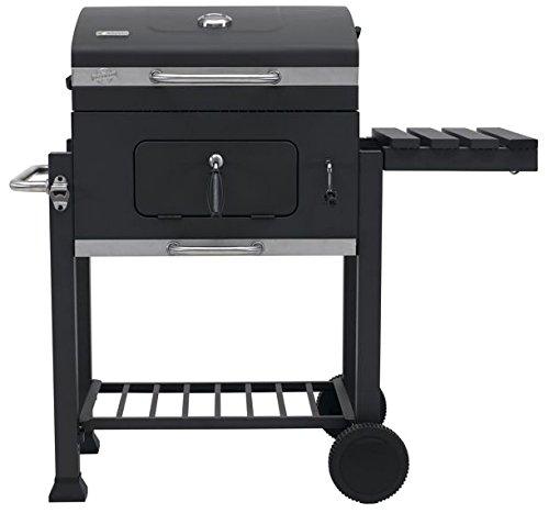 Tepro Barbecue au Charbon de Bois - avec roulettes - BBQ Grill Mobile - Robuste & Réglable - Modèle 2018