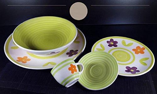 Offerta servizio piatti moderni da tavola colorati in - Servizio piatti design ...