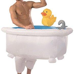 Traje de bañera Inflable |Traje Peculiar Tamaño Adulto |PoliésterCómodo |Resistente |Sistema de inflación Incluido |OriginalCup®