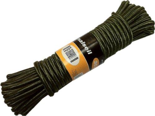 iapyx® 4260246943004 - Cuerda específica de escalada, color verde oliva, talla 30m