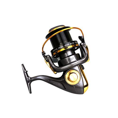 HiXB Mulinello da Pesca Mulinello Rotante 12 + 1bb 8000 9000 10000 11000 Robusto E Durevole Facile da Piegare Buona qualità E da Viaggio Indispensabili,11000