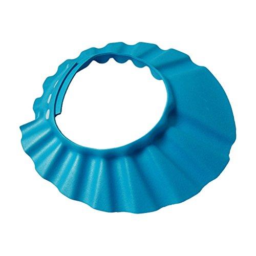 BESTOMZ Baby Shampoo Cap Augenschutz Dusche Badeschutz weicher Kappen Hut für Baby Kinder