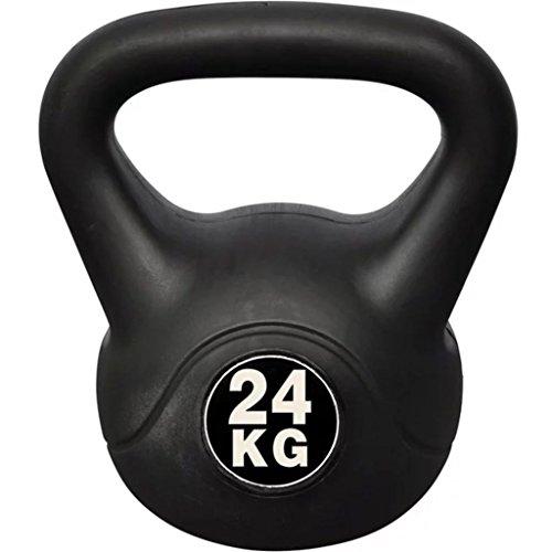mewmewcat Peso con Maniglia Kettlebell da 24 kg 24 x 30 x 34 cm