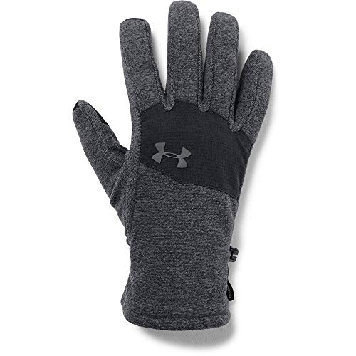 Under Armour, Survivor Fleece Glove 2.0, Guanti, Uomo, Nero (Nero/Graphite), M