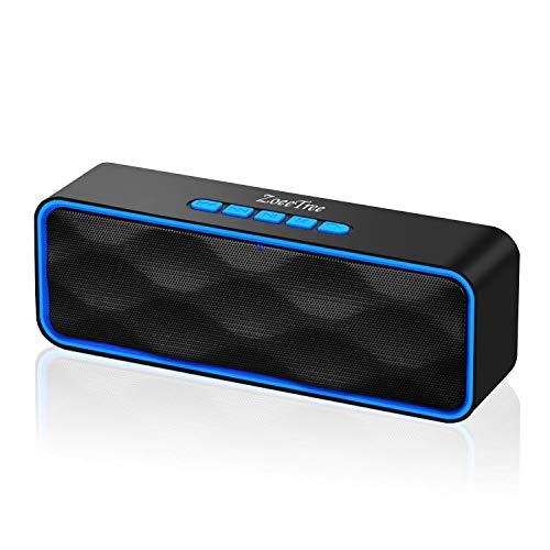 ZoeeTree S1 - Altoparlante Bluetooth senza fili con audio HD e bassi potenziati, altoparlante...
