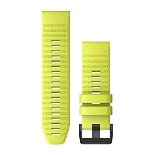 Garmin QuickFit 26 - Cinturino per orologio da polso, in silicone, colore: Giallo