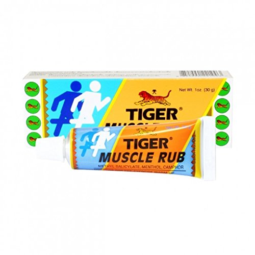 O Tiger Balm Instant Relief Muscle Rub Cream (60 g)