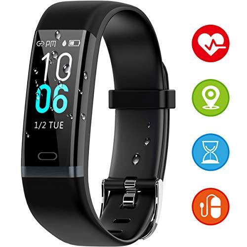 Winisok Fitness Tracker IP68, Orologio Fitness Braccialetto Pressione Sanguigna Cardiofrequenzimetro...