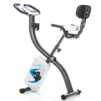 skandika Foldaway X-2000 - bicicleta estática - Bluetooth - App Google Street View - plegable