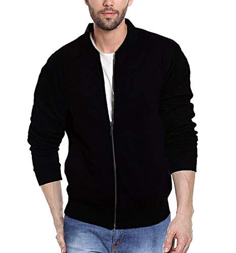Veirdo Men's Jacket (X-Large, ABLACK)