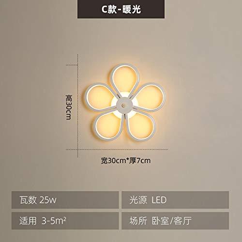 MJSM Light lampe de chevet lampe solaire Note creative LED soggiorno camera da letto corridoio...