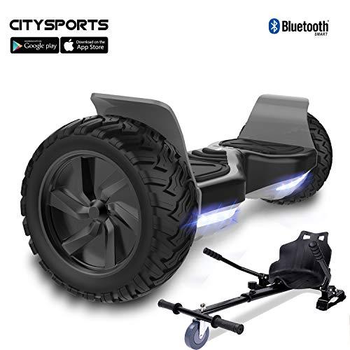 CITYSPORTS Hoverboard 8.5' Fuoristrada Hoverboard Hoverboard Hummer SUV, Bluetooth e App, 700W