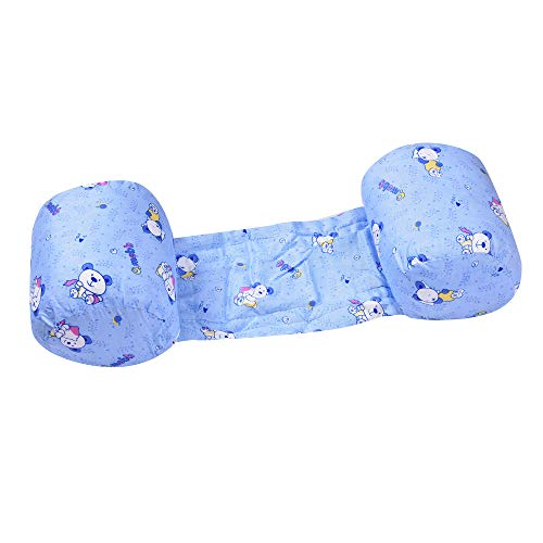 Mummamia Baby Side Sleeping Pillow/Anti-roll Booster Pillows - Baby Snuggler Pillow (Blue)