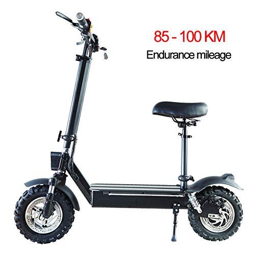 DYS@ Scooter Elettrico-Leggero, Pieghevole E Facile da Trasportare, Altezza-Regolabile, Mini-Scooter...