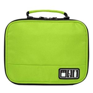 Green, China : BAGSMART Electronic Accessories Organizers Bag for Earphone Data Cables USB iPad Cell Phone Charger Electronics Travel Organizer 3  Green, China : BAGSMART Electronic Accessories Organizers Bag for Earphone Data Cables USB iPad Cell Phone Charger Electronics Travel Organizer 41gyF1ehSJL