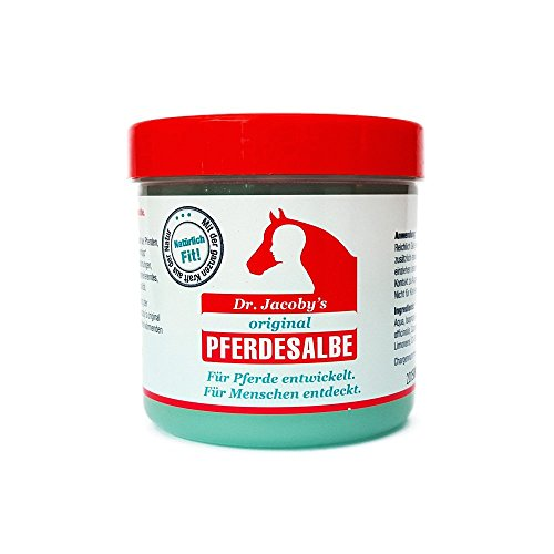 Dr. Jacoby´s original Pferdesalbe 500ml -Der Geheimtipp zur schnellen Hilfe bei: Gelenkbeschwerden, Rückenverspannungen, müden Muskeln und Muskelkater