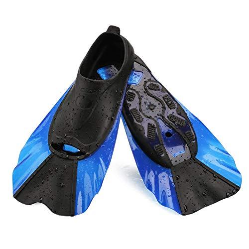 WADEO Schwimmflossen Kinder Kurz Kinderflossen Sport Trainingsflossen Schwimmen Freizeit Kurzflossen Wassersport Schwimmtraining
