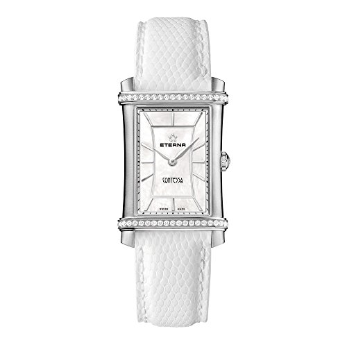 Eterna Damen - Armbanduhr Contessa Analog Quarz 2410.48.66.1200