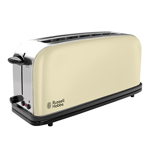 Russell Hobbs 21395-56 Tostapane con Fessure Extra Classic, Crema