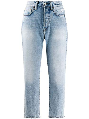 ACNE STUDIOS Damen A00041228 Hellblau Baumwolle Jeans