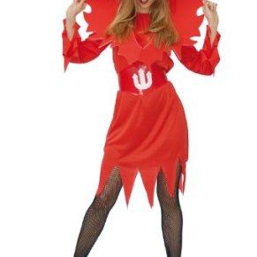 GUIRMA - Disfraz de diablesa para mujer, talla única (80037)