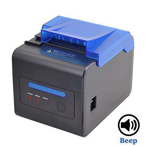 [Aggiorna 2.0] 80mm Stampante Termica Diretta Speciale per la Cucina EU MUNBYN AUTO-CUT Stampante...