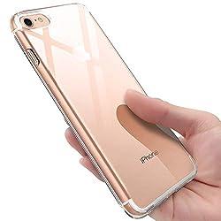 Kaufen innislink iPhone 8 Hülle, iPhone 7 Silikon Hülle Transparent TPU Bumper Case Schutzhülle iPhone 8 / iPhone 7 Ultra Dünn Kratzfest Stoßfesten Schlank Soft Case Cover Handyhülle für iPhone8 / iPhone7