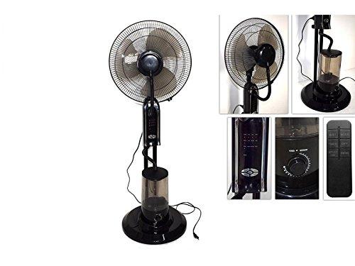 Ventilator mit Zerstäuber Timer und Fernbedienung Sommer raffrescamento