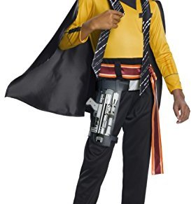 Solo Star Wars Story Lando Calrissian Child Fancy Dress Costume Large