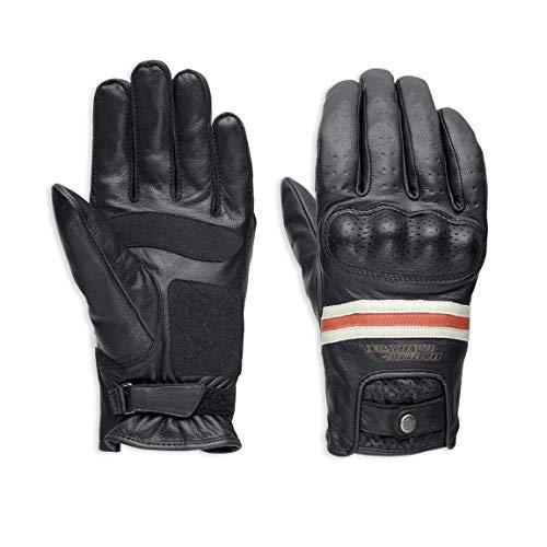 HARLEY-DAVIDSON Men's Reaver Leather Gloves - 98178-18EM