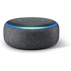 Echo Dot (3ª generazione) - Altoparlante intelligente con integrazione Alexa - Tessuto antracite