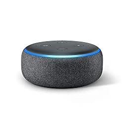 Kaufen Das neue Echo Dot (3. Gen.) Intelligenter Lautsprecher mit Alexa, Anthrazit Stoff