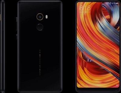 Xiaomi Mi Mix 2 Dual SIM 64GB 6GB RAM Ceramic Black