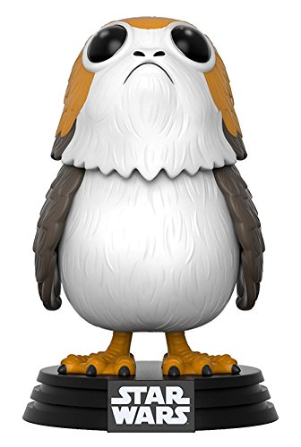 Star Wars - Figuara de vinilo: POP! Bobble: Star Wars: E8 TLJ: Porg