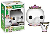 Funko 3898 POP Disney: POTTS and CHIP, White, 3.75 inches