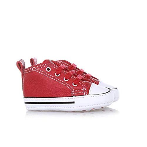 CONVERSE 855120C FIRST STAR RED WHITE SNEAKERS Bambino RED WHITE 19