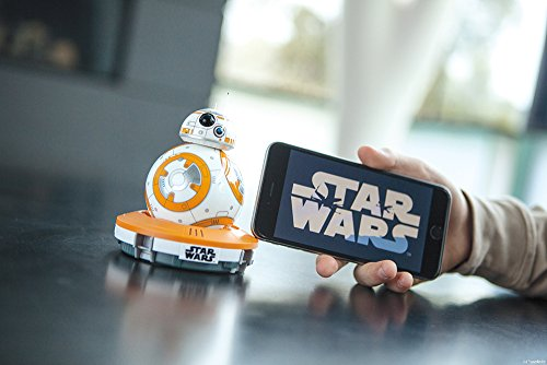 41hjUaPk5OL - Sphero R001ROW, Robot electrónico droide BB-8 Star Wars (R001ROW)