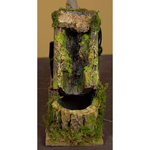 ROSSI ROSA Cascata con Ruscello e Pompa, 18 x 6.5 x 12 cm